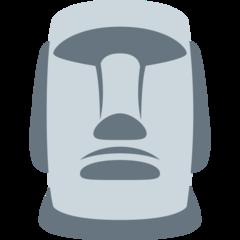 Moyai twitter emoji