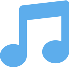 Musical Note twitter emoji