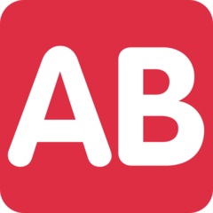 Negative Squared Ab twitter emoji
