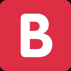 Negative Squared Latin Capital Letter B twitter emoji