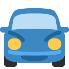 Oncoming Automobile twitter emoji