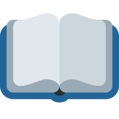Open Book twitter emoji