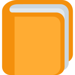 Orange Book twitter emoji
