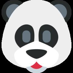 Panda Face twitter emoji
