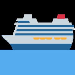 Passenger Ship twitter emoji