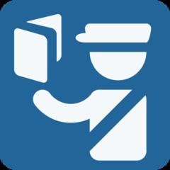 Passport Control twitter emoji