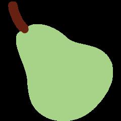 Pear twitter emoji