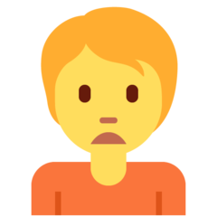 Person Frowning twitter emoji