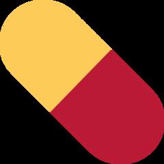 Pill twitter emoji