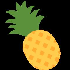 Pineapple twitter emoji