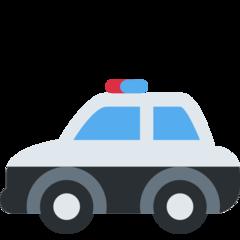 Police Car twitter emoji