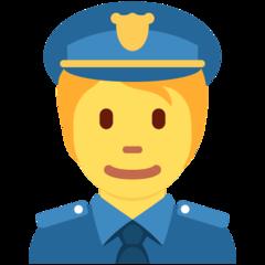 Police Officer twitter emoji
