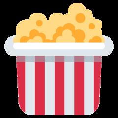 Popcorn twitter emoji