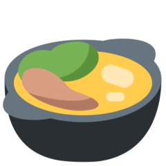 Pot Of Food twitter emoji
