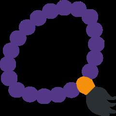 Prayer Beads twitter emoji
