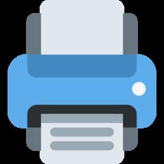 Printer twitter emoji