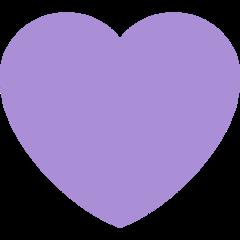 Purple Heart twitter emoji