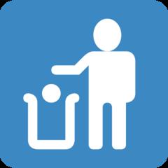 Put Litter In Its Place Symbol twitter emoji