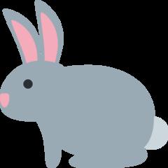 Rabbit twitter emoji