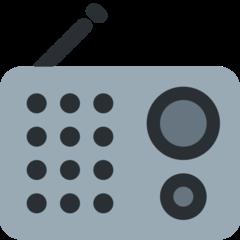 Radio twitter emoji