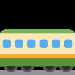 Railway Car twitter emoji