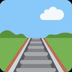 Railway Track twitter emoji
