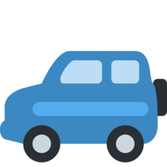 Recreational Vehicle twitter emoji