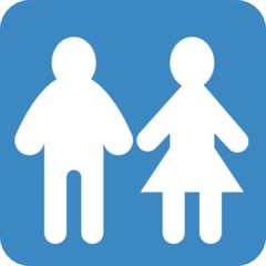 Restroom twitter emoji