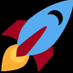 Rocket twitter emoji