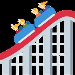 Roller Coaster twitter emoji