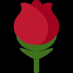 Rose twitter emoji