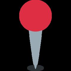 Round Pushpin twitter emoji