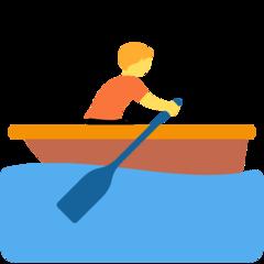Rowboat twitter emoji