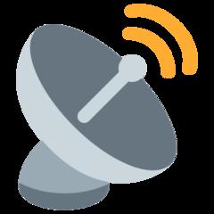 Satellite Antenna twitter emoji