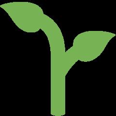Seedling twitter emoji