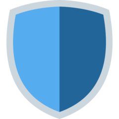 Shield twitter emoji
