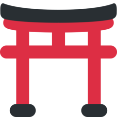 Shinto Shrine twitter emoji