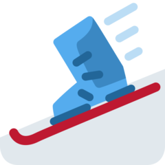 Ski And Ski Boot twitter emoji