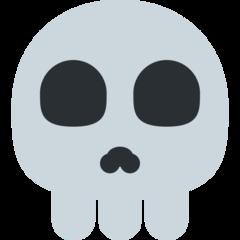 Skull twitter emoji