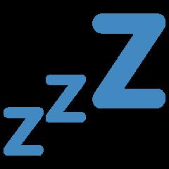Sleeping Symbol twitter emoji