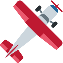 Small Airplane twitter emoji