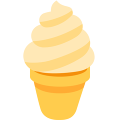 Soft Ice Cream twitter emoji