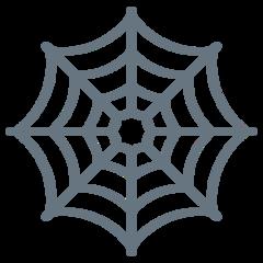 Spider Web twitter emoji
