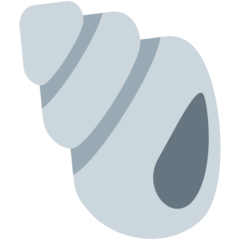 Spiral Shell twitter emoji