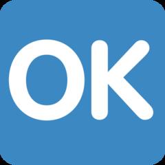 Squared Ok twitter emoji