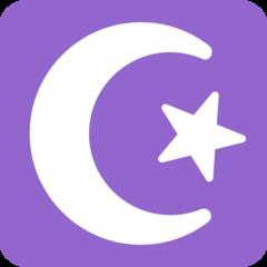 Star And Crescent twitter emoji