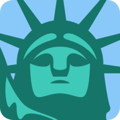 Statue Of Liberty twitter emoji