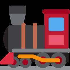 Steam Locomotive twitter emoji