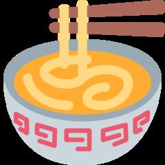 Steaming Bowl twitter emoji