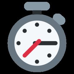 Stopwatch twitter emoji